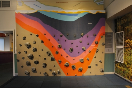 Michigan Basin Climbing Wall