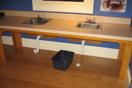 Building in a Building: Sinks