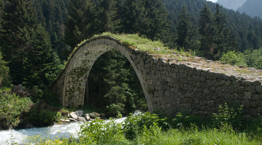 How To Build A Stone Footbridge