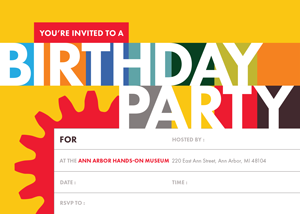 Birthday Party E Invite